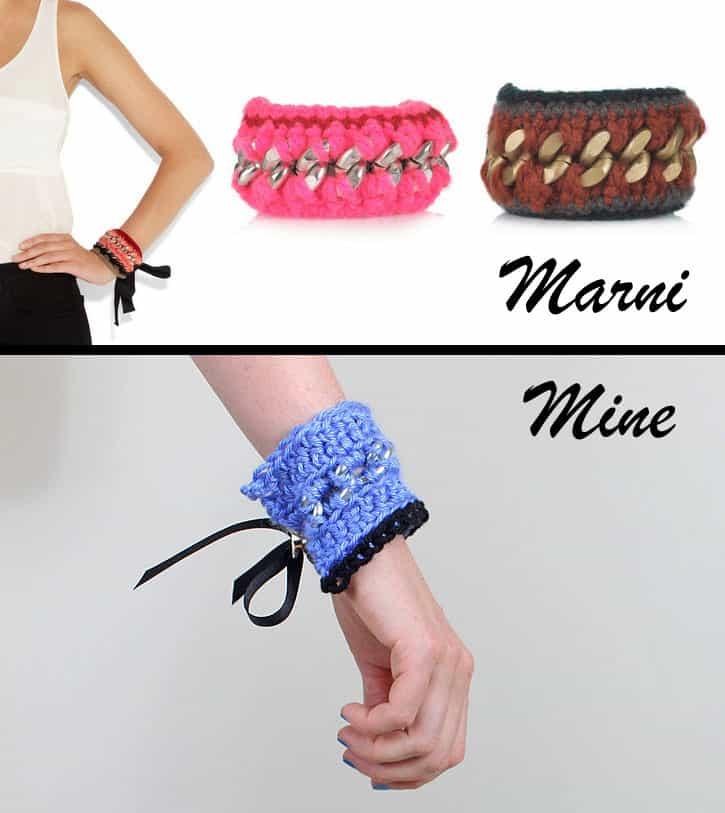 diy marni bracelet and i'm back! - Gina Michele