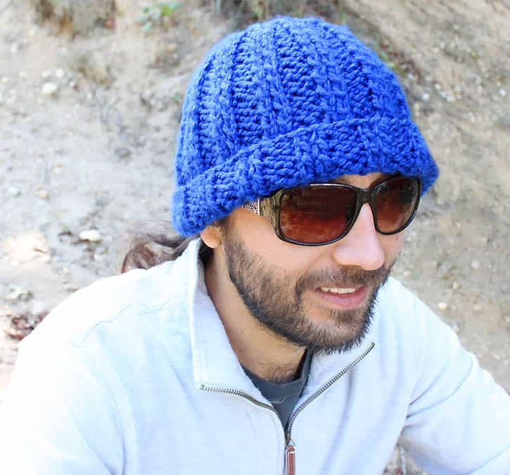 Mens Basic Beanie Knitting Pattern Gina Michele