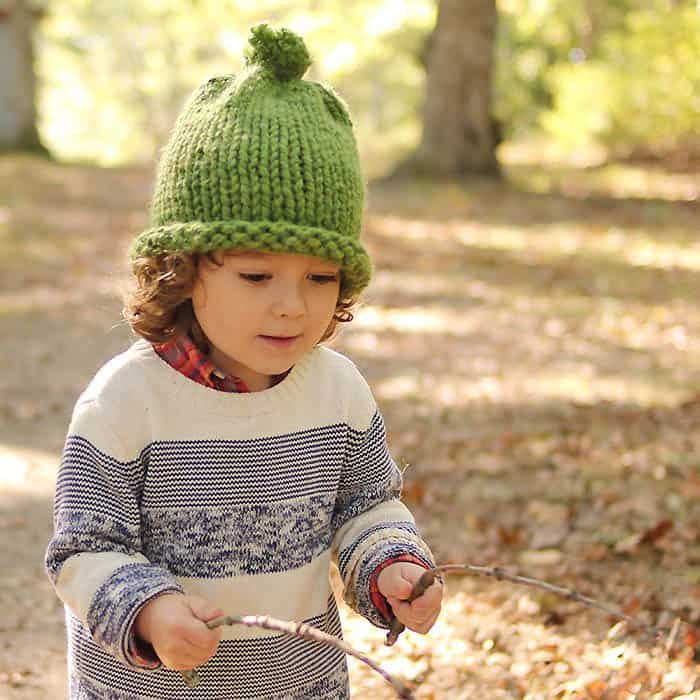 Tiny Home Designs: 1 Hour Baby & Kids Hat Knitting Pattern