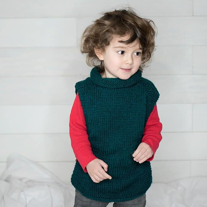 Knitting A Sweater For The First Time : Easy kids sweater free knitting pattern gina michele