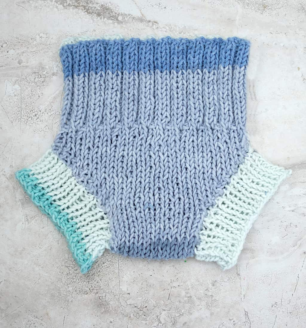 Easy Diaper Cover Knitting Pattern - Gina Michele